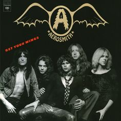 Aerosmith Get Your Wings on Numbered Limited Edition 180g LP Remastered from the Original Source Tapes With Steven Tyler on vocals, Joe Perry and Brad Whitford on guitars, Tom Hamilton on bass, and Jo