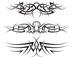 #Tattoo #TattooIdeas #TribalTattoos #TattooDesigns Tribal Tattoos For Men, Tribal Tattoo Designs, Tattoos For Guys, Body Art Tattoos, Cool Tattoos, Tattoo Set, Find Image, Tattos, Vectors