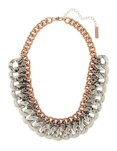 Link Up Chain Necklace Clothing