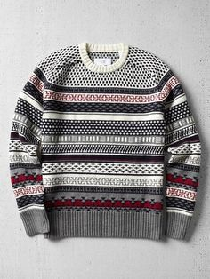 ShopStyle: Jack SpadeStone Fair Isle Sweater