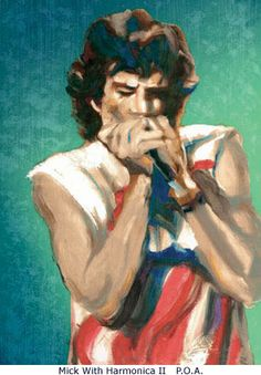 Fans of the Rolling Stones can get their hands on a piece of rock and roll history with a new collection of artwork from Ronnie Wood The Rolling Stones, Caricatures, Ronnie Wood Art, Beatles, El Rock And Roll, Ron Woods, Rock Posters, Concert Posters, Fan Art