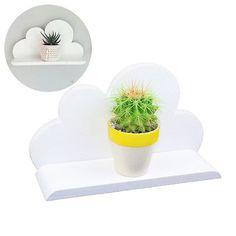 Lemo handmade Home Decor - Wooden white cloud shelf decorative Gift HD14 in Home, Furniture & DIY, Furniture, Bookcases, Shelving & Storage | eBay