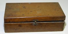 MEDICAL WOODEN Box 1800's