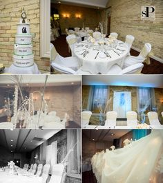 Gorgeous #WinterWonderland #NYE wedding #deltalondonarmouries
