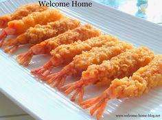 Welcome Home Blog: Tempura Shrimp