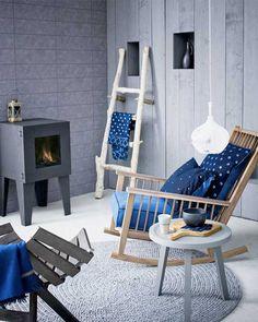Blue & Grey Living Room