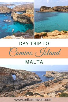 Take a day trip to Comino Island from Malta and see the gorgeous blue waters of the Blue Lagoon in Comino. Cool Places To Visit, Places To Travel, Packing List For Travel, Travel Tips, Malta Island, Europe On A Budget, Relaxing Day, Turquoise Water, Blue Lagoon