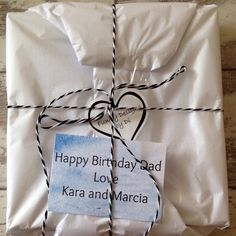 Here is a Birthday gift all wrapped up and ready to post. If you would like me to send items directly to the person receiving the gift and add a personal note then just let me know. Birthday Gifts, Notes, Creative, Happy, Fun, Handmade, Etsy, Birthday Presents, Hand Made