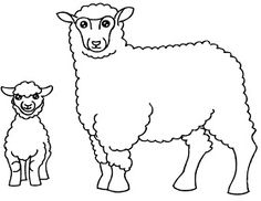 Fise de lucru - gradinita: IMAGINI de colorat cu animale DOMESTICE Unicorn Coloring Pages, Applique Templates, Diy Table, Sheep, Projects To Try, Snoopy, Embroidery, Crafts, Fictional Characters