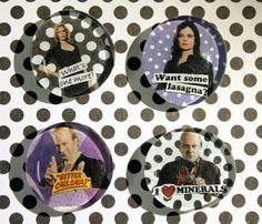Breaking Bad Magnets on Etsy, $10.00
