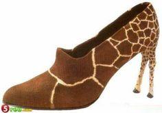 Giraffe heels!