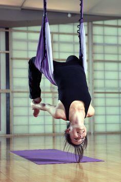 #yoga #antigravity yoga inspiration uhhh yo quiero.