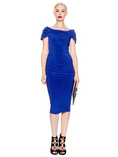 Pied a Terre Slinky knot jersey dress #houseoffraser http://ow.ly/ovH90