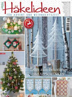 Sabrina Special Hakelideen Diskusia na LiveInternet - ruský servis Online denníky Crochet Book Cover, Crochet Books, Crochet Home, Christmas Books, Christmas Crafts, Christmas Decorations, Xmas, Christmas Ornaments, Crochet Chart
