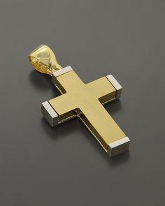 Cross Jewelry, Gold Cross, Gold Pendant, Crosses, Jewelery, Cufflinks, Christian, Accessories, Soldering