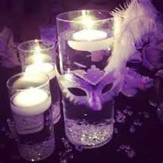 An increasing collection of Superb Masquerade Table Decorations Masquerade Ball Decorations Centerpieces graphics pinned by Crystal Anderson home re. & Masquerade Quinceañera Party Ideas | Pinterest | Masquerades ...