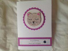 Birthday card with emery board