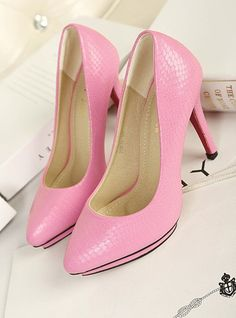 shoes - http://zzkko.com/n215443-utumn-new-OL-Korean-version-of-sweet-lady-single-shoes-waterproof-Taiwan-high-heeled-fashion-shoes-wild.html $19.20
