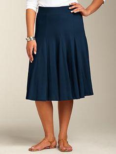 Talbots - Godet Full Skirt
