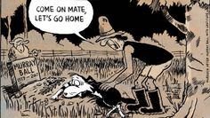 A Footrot Flats cartoon in memory of creator Murray Ball's death last year. Footrot Flats, Auckland New Zealand, Kiwiana, A Comics, Old Toys, Feature Film, Childhood Memories, Nostalgia, History