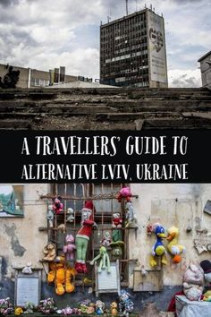 Alternative Lviv - a travellers' guide to off the beaten path sightseeing in Lviv, Ukraine Abandoned Buildings, Abandoned Places, Abandoned Castles, Haunted Places, Abandoned Mansions, Amazing Destinations, Travel Destinations, Travel To Ukraine, European Travel Tips