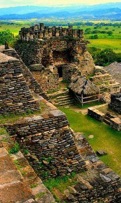 The Mayan ruins of Tonina in Chiapas, Mexico.