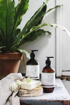 Myrtle Moss Botanical Skincare, I have this range at home it's gorgeous and locally made which is even better! Jolie Photo, Tan Skin, Perfume, Packaging Design Inspiration, Organic Beauty, Myrtle, Natural Living, Body Wash, Body Lotion