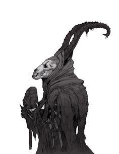New demon concept art monsters death ideas Fantasy Kunst, Dark Fantasy Art, Dark Art, Dark Creatures, Mythical Creatures, Arte Horror, Horror Art, Monsters Rpg, La Danse Macabre