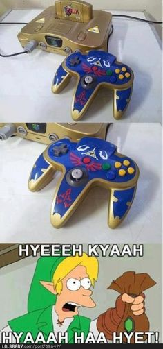 Zelda N64 Controller and I wonder why don't I have this? Oh yeah, I'm broke....