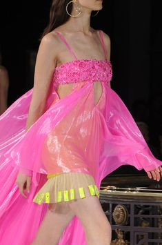 Pink Versace Atelier Spring 2013 Couture · Inspiration by Color