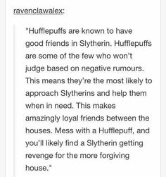 Dont mess with Hufflepuffs