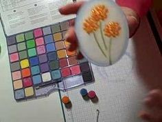 ▶ Fabulos techniques using chalks - YouTube