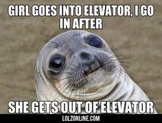 Girl Goes Into Elevator...