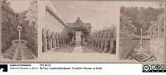 Potsdam-Sanssouci. Antikes Landhaus bei Schloss Charlottenhof. Ansichten der Gartenanlagen - Das Erbe Schinkels - Der Onlinekatalog - SM 34.33