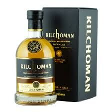 KILCHOMAN LOCH GORM: Nose, there's the peat, straight away, earthy and rich. This is followed by red berries and sweet citrus with a medicinal hint developing along the way.  Palate, crumbly biscuits and vanilla, an inviting pair to open up a palate. This is swiftly followed by smoky peat once again, which stays with you through the Sherry soaked berries until the finish.  Finish, sweet and smoky right to the end, cherries lasting.  Overall, great balance of Oloroso Sherry sweetness.