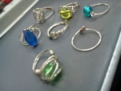 Wire Wrapped Rings 1