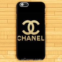 Gold Channel LOgo iPhone Cases Case