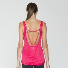 Open scoop back tank in a light weight fabric with unrivaled comfort. Updated intersecting back strap design, dropped tail hem and reflective :59 logo. Featured color: Everest  #DEVONTANK