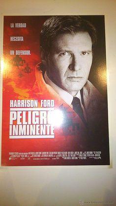 Guía publicitaria de la película: Peligro inminente. Con Harrison Ford