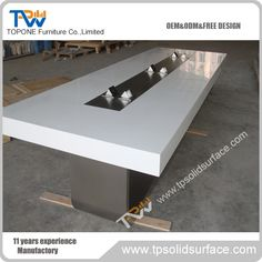 2017 New design solid surface conference tables for office furniture, modern meeting tables design for sale