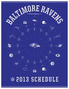 Baltimore Ravens 2013 Schedule