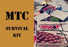 MTC Survival Kit Care Package SOMEONE DO THIS FOR ME PLEASE!?!?!?!?!?