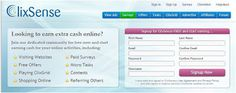 GET paid to click ads!!! Free to join CLIXSENSE!!! Recommend & legit to make easy money online.