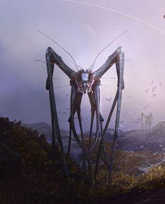 Alien4, Tyler Smith on ArtStation at http://www.artstation.com/artwork/alien4