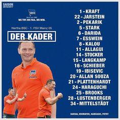 Unsere Jungs für das Heimspiel gegen Mainz!  #BSCM05 #hahohe