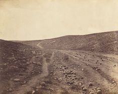 The Valley of the Shadow of Death by Roger Fenton