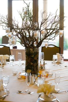 Manzanita Tree Centerpieces
