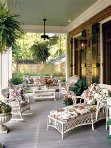 Outdoor living...I need a bigger patio!