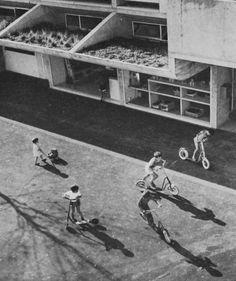 Siedlung Halen, Switzerland, 1957-61 (Atelier 5)