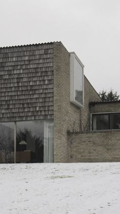 Private house of the Danish architects Eva Koppel (1916 - 2006) and Nils Koppel (1914 - 2009) in Gentofte, Denmark